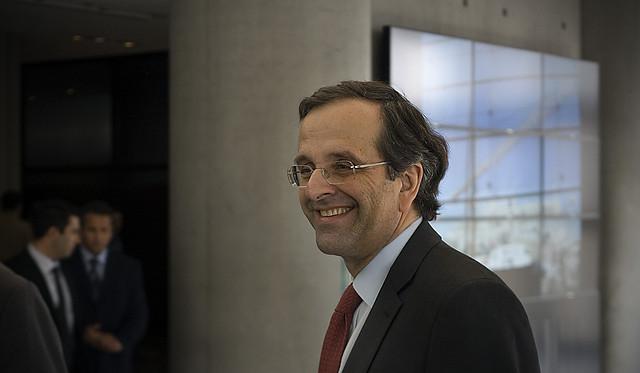 Premier Greco Antonis Samaras