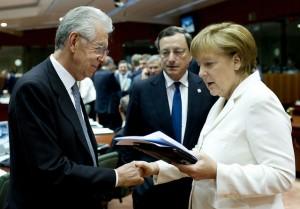 Draghi Monti Merkel