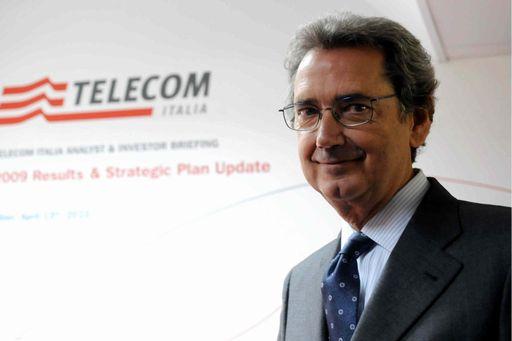 Franco Bernabé Telecom Italia