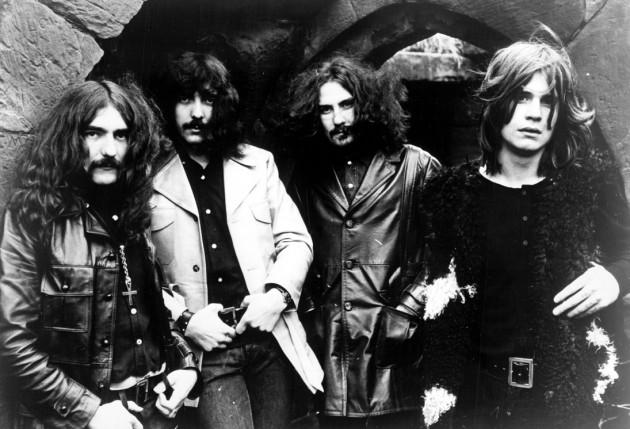 Gruppo Metal Britannico Black Sabbath