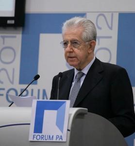 Mario Monti Debito Pubblico