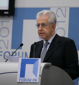 Mario Monti Spread