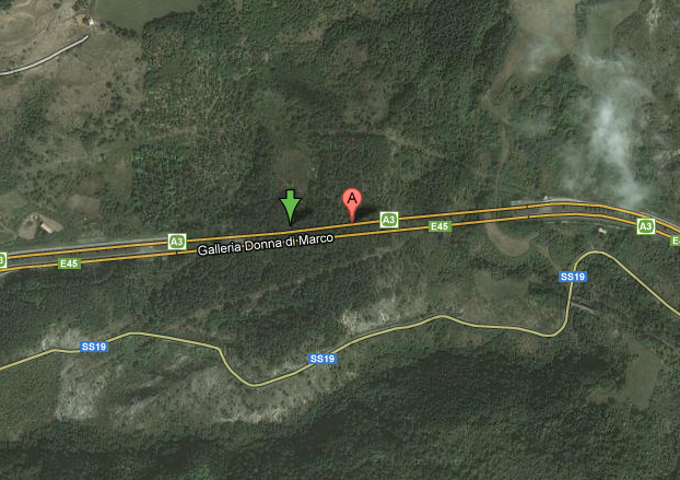 Terremoto Pollino 8 Novembre Autostrada A3