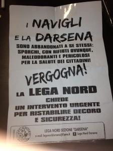 Volantini Milano Politica