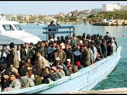 Sbarco Migranti Tunisini Agrigento 23 Novembre