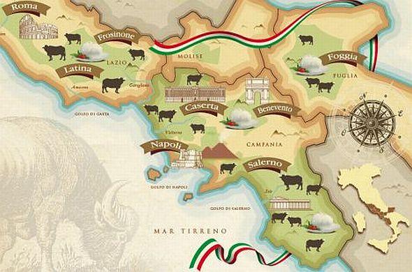 produzione mozzarella in italia