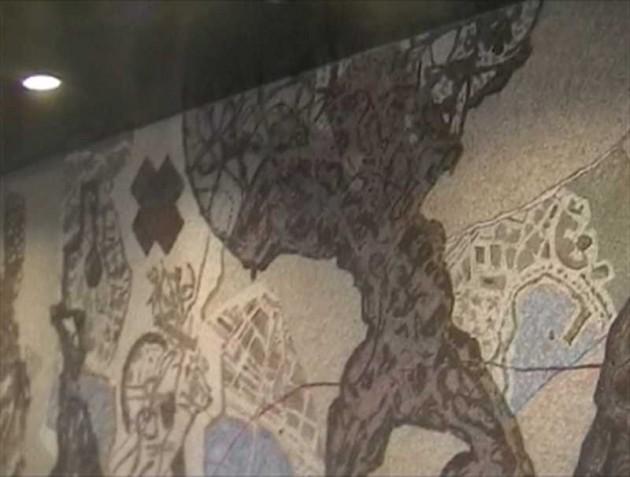 Dipinti metro toledo napoli