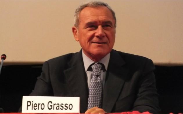Piero Grasso Candidato col Pd