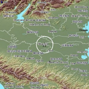 Terremoto Mirandola 22 Dicembre 2012