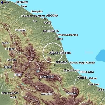 Terremoto Ascoli PIceno Dicembre 2012