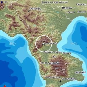 Terremoto Oggi Calabria Pollino