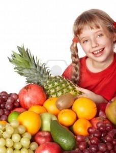 Bambini Frutta in Famiglia