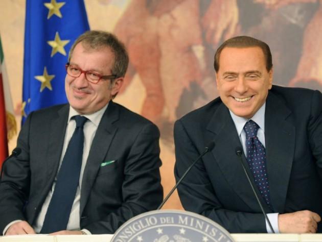 Accordo elezioni Berlusconi Maroni