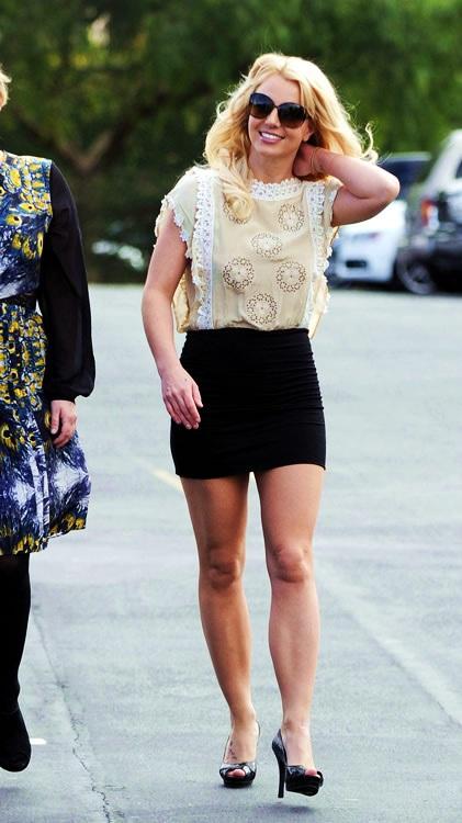 Britney spears tacchi
