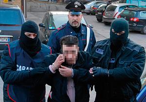 Sequestro Calevo Arresti