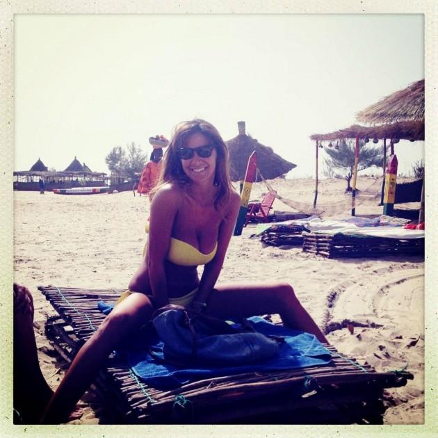Melita Toniolo in Bikini