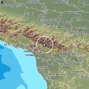 Terremoto in Garfagnana