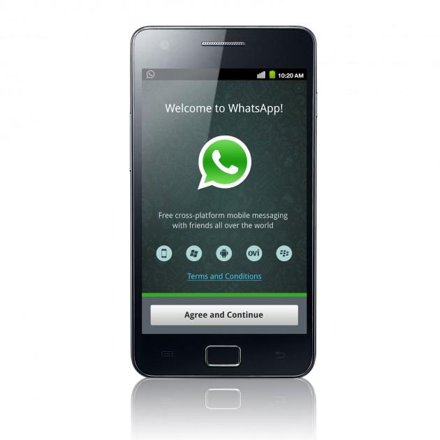 applicazione whats app