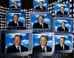 berlusconi in tv