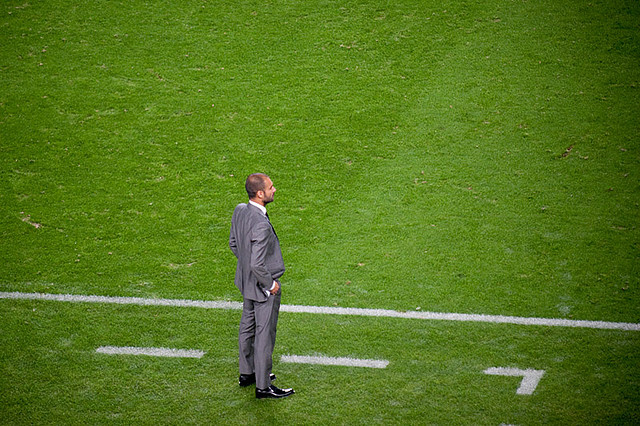 Pep Guardiola Milan