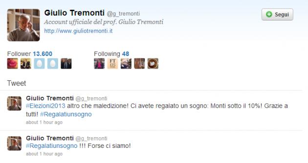 Tweet Monti
