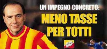 Meno tasse per Totti