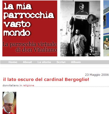 scandalo nuovo papa